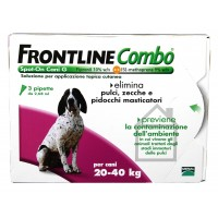 FRONTLINE COMBO CANI 20-40 Kg.